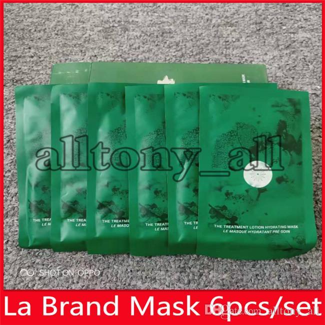 Hot Drop Shipping La célèbre marque réparation Masque visage traitement Lotion Hydratante Masque 6 pièce visage Kit Masques
