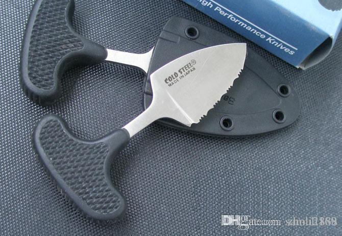 콜드 스틸 URBAN PAL 43LS 작은 고정 블레이드 나이프 karambit 포켓 나이프 전술 사냥 생존 야영은 EDC 도구 무료 배송 칼