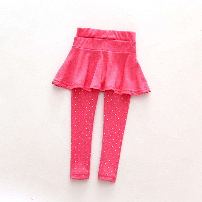 2019 Yeni Satış Bebek Çocuk Pantolon Etek Pantolon Culotte Pantolon Legging Kız Yün Çocuk Elbise