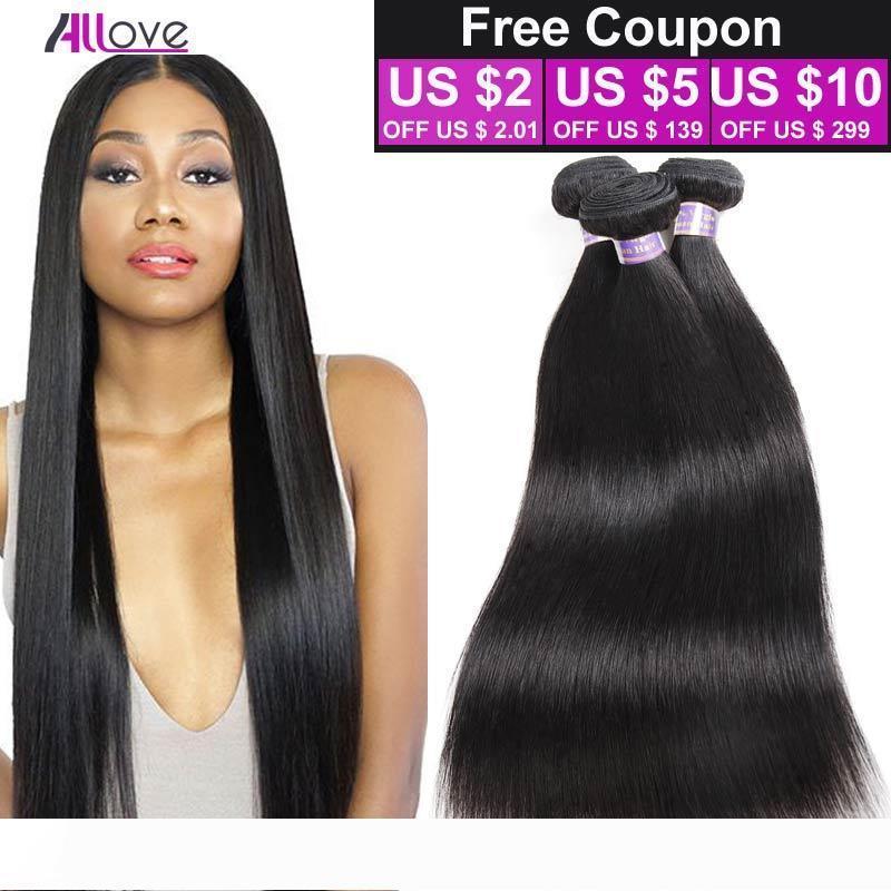 """Cheap 8A peruviano Virgin diritto dei capelli 8 """"-28"""" peruviano Bundle 3 Capelli Pz umani peruviani Virgin diritto naturale dei capelli di colore malesi"""