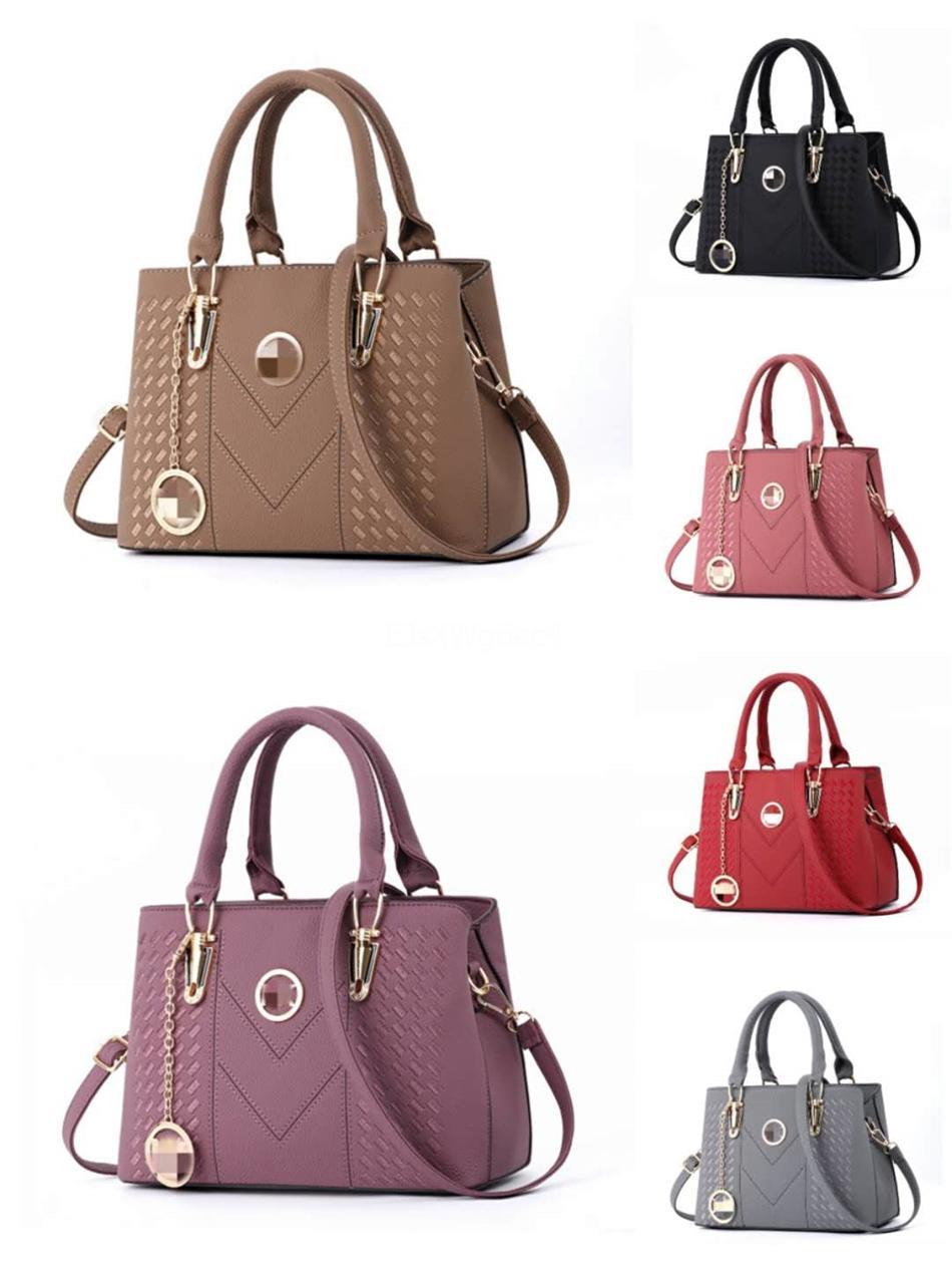 Oxidan cuero bolso de compras Nf Primera marca real alta calidad de cuero bolsos de marca Bolso de PVC Gm Mm Bolsa Initinals Bolsas # 248