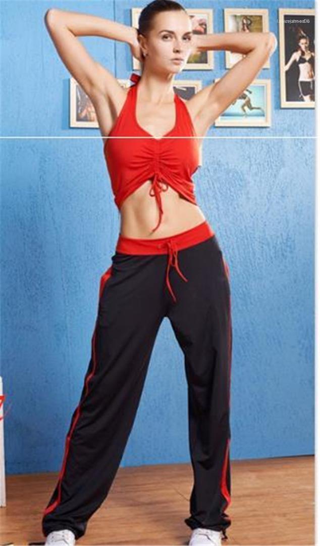 Pantalon avec cordon de serrage femmes Designer lambrissé Imprimé sport Pantalons Designer Fashion Lady Pantalon à rayures Courir