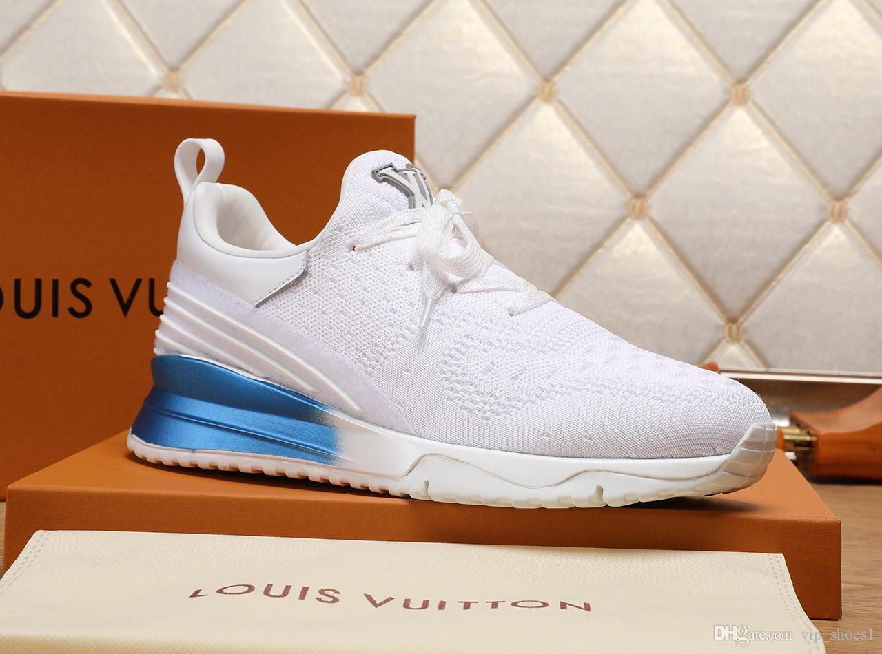 2020vv neue Limited Edition Luxus Design Herrenmode Turnschuhe, Wildbreathable Männer Freizeitschuhe, Herren Partei-Schuhe Größe: 38-45