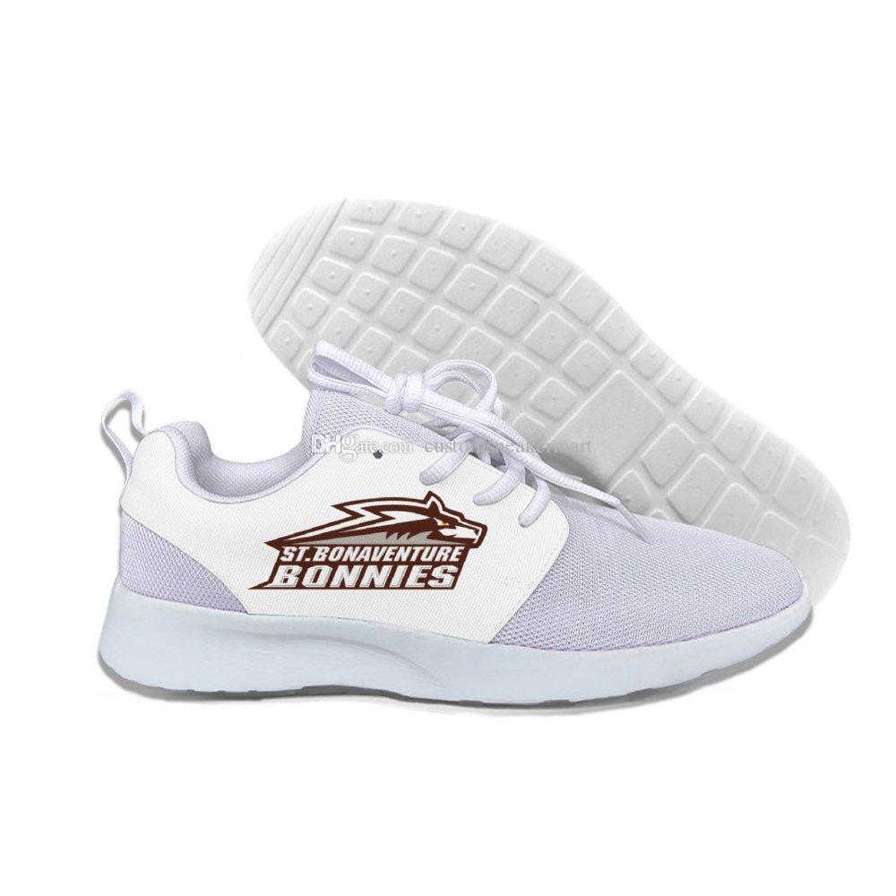 St Bonaventure Bonnies Erkekler / kadınlar özel nedensel Yaz Rahat hafif ayakkabılar