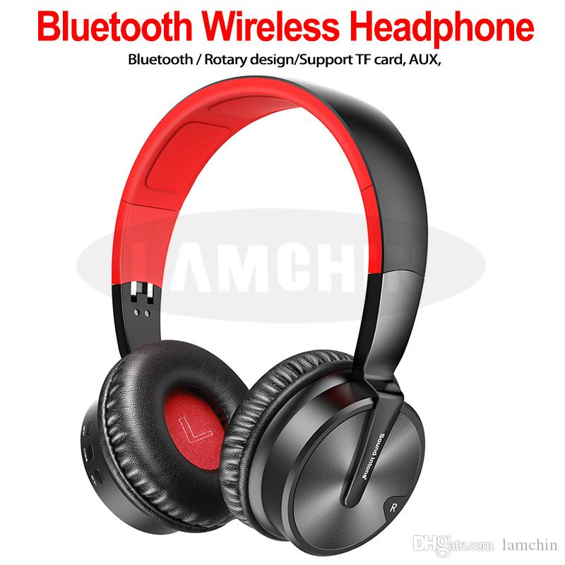 Bt16 Wireless Bluetooth Earphones Game Headset Stereo Headphones Earphones With Microphone Tf Card Support Aux Input For Mobile Phone Music Bluetooth Headphones For Cell Phones Headsets For Cell Phones From Lamchin 18 8