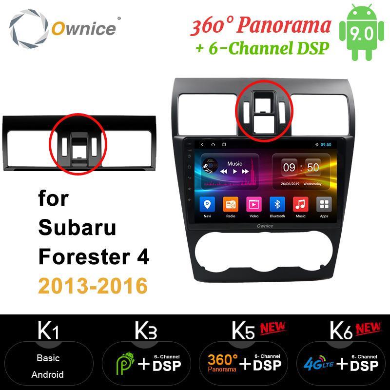 Ownice 360 Panorama IPS Android9.0 Autoradio DVD GPS Navi Radio Player carplay 4G LTE DSP Per WRX Forester 2013 2014 2015 2016