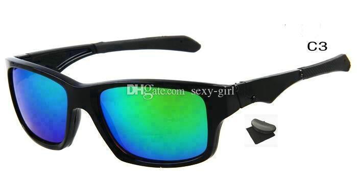 Um par com o caso! Alta qualidade novos óculos de sol moda praia sunglass óculos de sol ao ar livre muitas cores.
