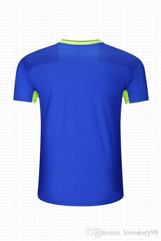 Lastest Homens Football Jerseys Hot Sale Outdoor Vestuário Football Wear Alta Qualidade 2020 0008021