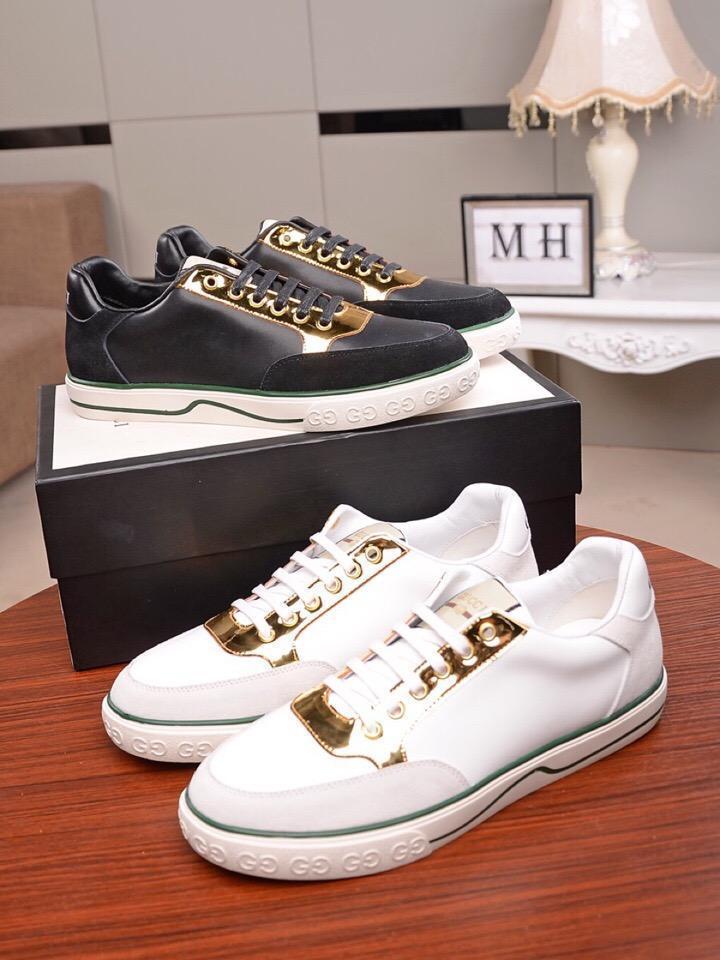 2020Designer NOUVEAU Chaussures Hommes Chaussures BasketsGGChaussures Business Casual hommes 38-46 1030-5