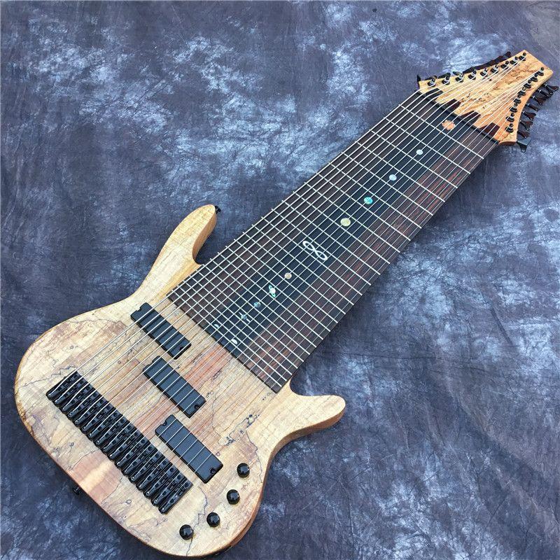 usine personnalisée 17 cordes de guitare électrique, touche acajou, marqueterie sans fil, offre personnalisée. Livraison gratuite