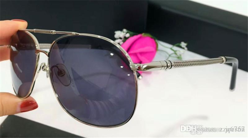 Nuevo diseñador de moda gafas de sol 428 marco cuadrado de metal clásico estilo de venta caliente uv 400 lentes polarizadas gafas de conducción para hombres