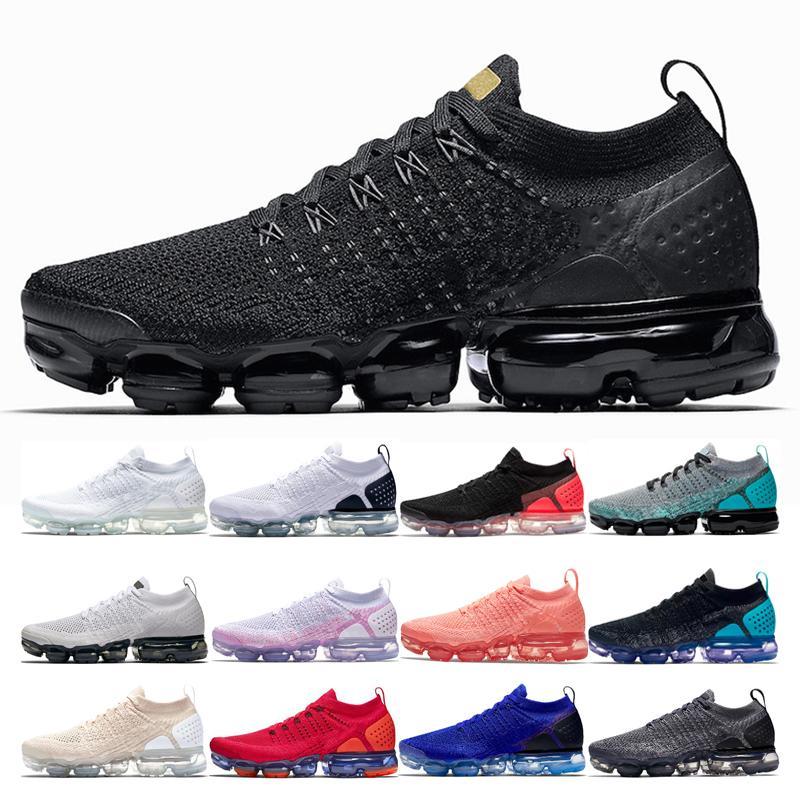 la moda 2,0 Hombres Mujeres de los zapatos corrientes más transpirable Negro Oro metálico Triple negro CALIENTE PUNCH Crema Ligera olímpica Oreo Sport zapatillas de deporte
