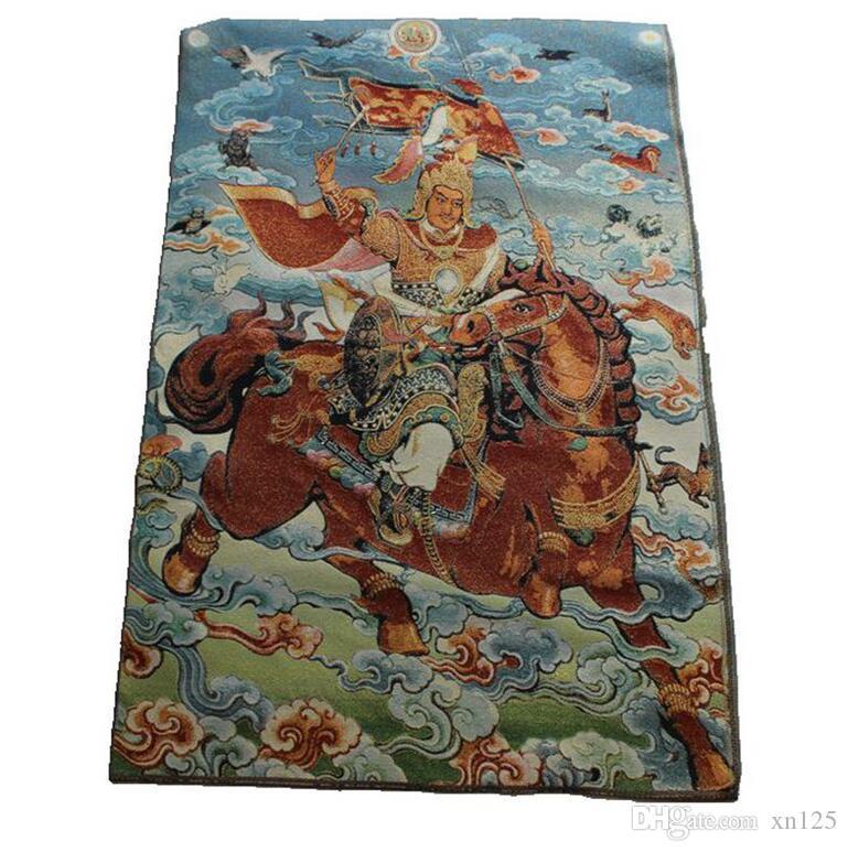 Nouveau gros Thangka Décoration Hanging Peinture Bouddha Maitreya Portrait Guanyin Remarques Manjushri Pusa Entrée Peinture Salon