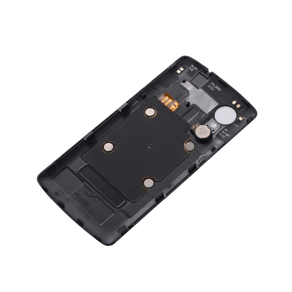 Nouveau Pour LG Nexus 5 D820 D821 Retour Couvercle de la batterie Pour LG Nexus 5 D820 Couvercle du compartiment de la batterie Logement arrière + Antenne NFC