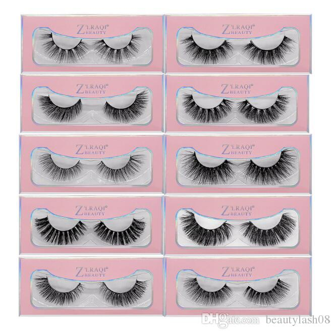 51 style 3d Mink Hair Fake Eyelash 100% Thick real mink HAIR false eyelashes natural Extension fake Eyelashes DHL free shipping
