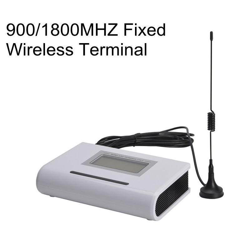 GSM 900/1800MHZ Fixed Wireless Terminal LCD Display support Alarm System PBX Caller ID SMS IMEI Change Clear Voice Stable Signal