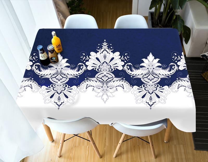 Exotic Estilo Bohemia Toalha de Cozinha Mesa de jantar Mesa Home Decor retangular Partido Covers Drop Ship