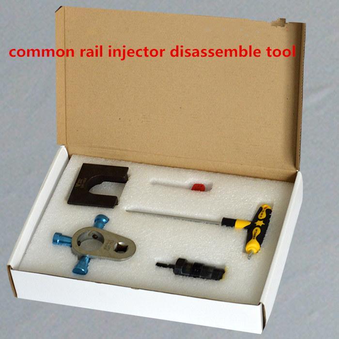 c7 / c9 common rail herramienta de reparación de media presión, desmonta la herramienta de riel común, adaptador de herramienta C7 C9