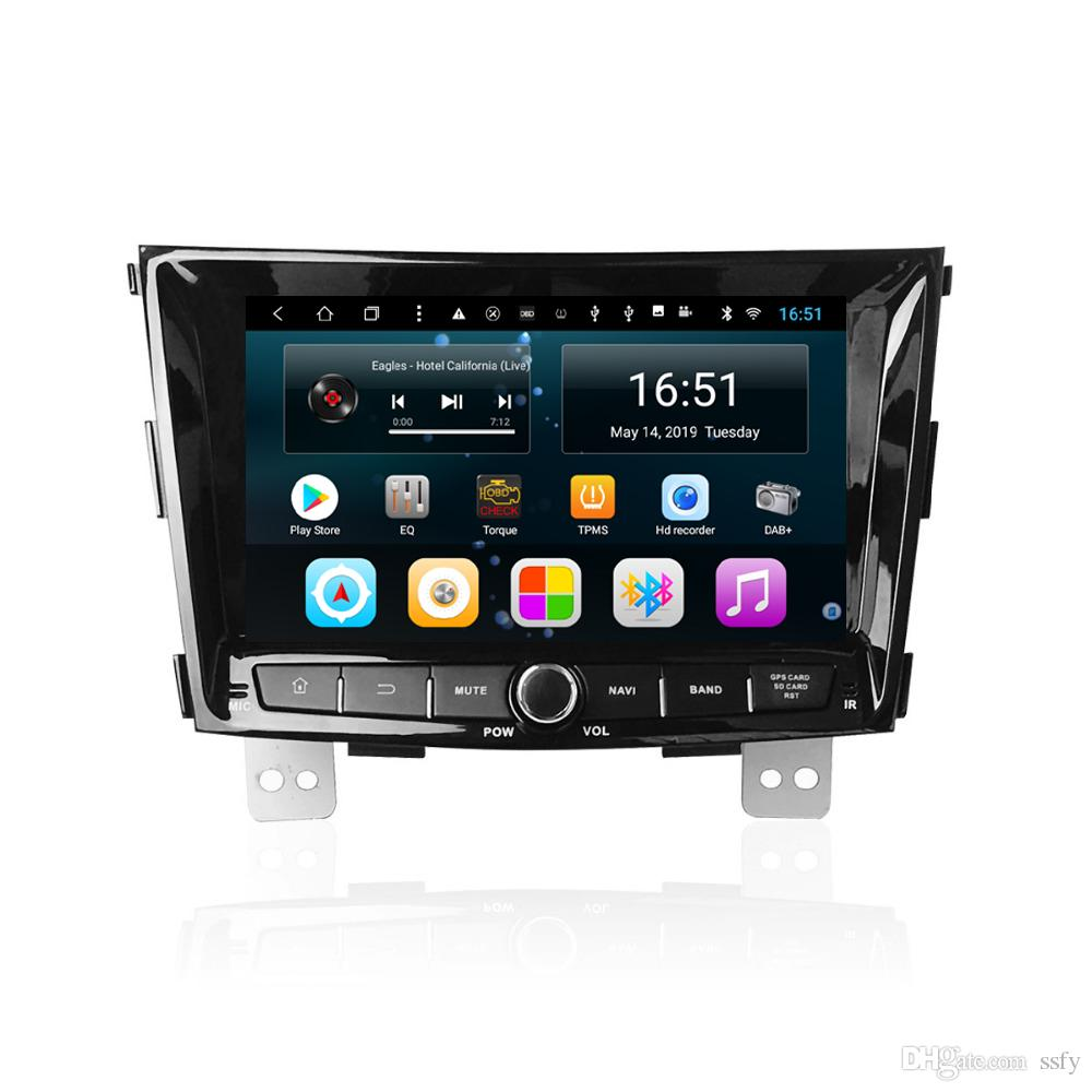 Android 7inch 8-core for Ssangyong tivoli 2015-2017 Car Multimedia Player Radio Tuner WIFI Bluetooth GPS Navigation Wifi Head Unit
