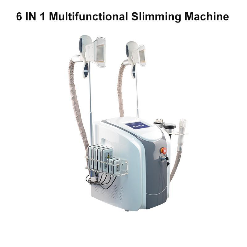 NUOVO grasso laser macchina congelamento vita dimagrante di cavitazione rf macchina riduzione del grasso lipo 2 teste di congelamento possono lavorare allo stesso tempo