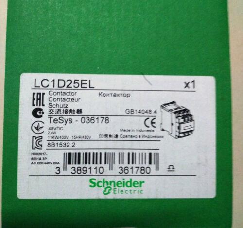 الفريق الجراحي الميداني LC1D25EL DC48V 1PC NEW شنايدر
