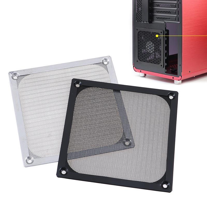 Durable Computer PC Fan Filter Case Aluminum Mesh Dustproof Guard 120mm x 120mm