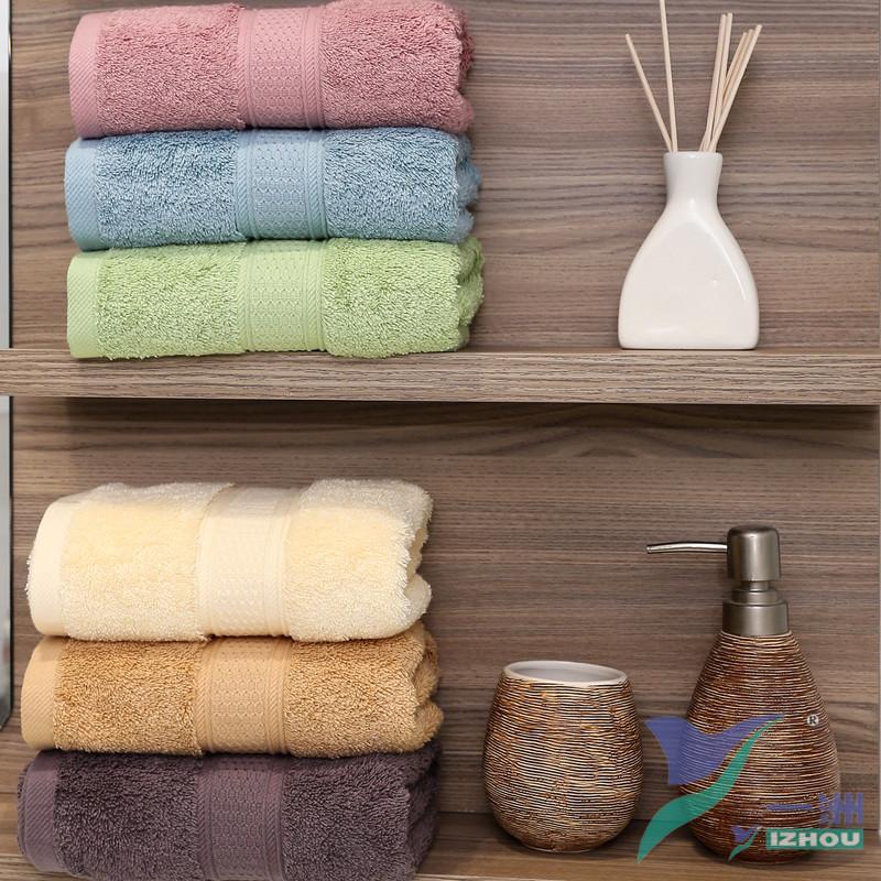 Yeni Geliş Kalınlaşmak banyo havlusu renk havlu Pamuk ev emici pamuk cilt temizleme