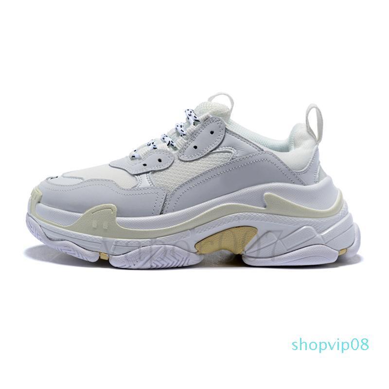 2019 triple S vieilles chaussures de papa tripleur baskets les femmes scarpe de vert clair hommes sole Chaussures de hombre zapatillas R150 hommes noir
