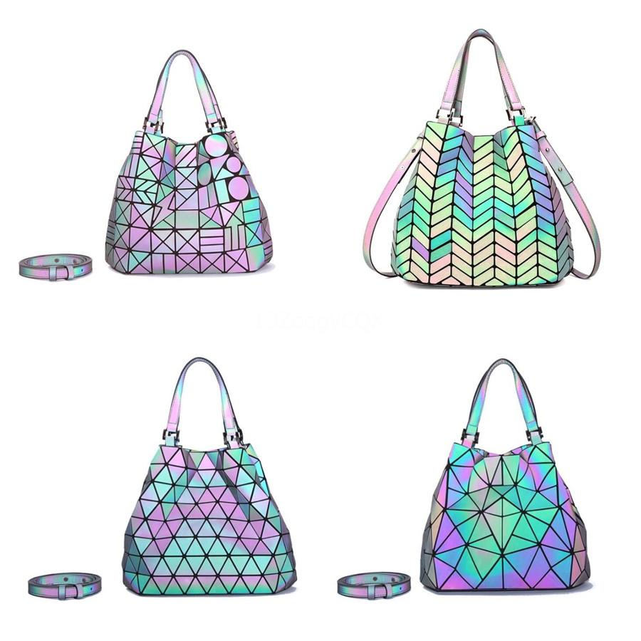 Real Leather Lady Designer Bags Good Hardware Metal Buckles Women Geometric Bags Shoulder Handbags #184