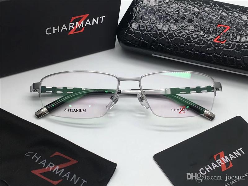 2019 New Fashion Brand Designer Charment 19994 Titanium Glasses Half Frame  Prescription Glasses Retro Optical Glasses Men Eyewear From Joesun, &Price