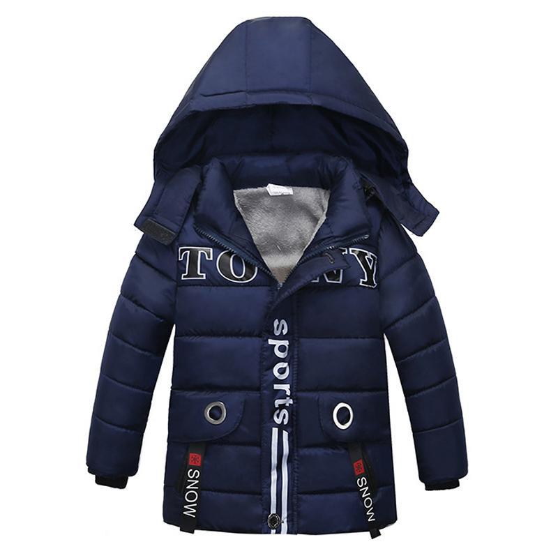 Enfants Vestes 2020 Vestes d'hiver Automne pour les garçons manteau enfants au chaud Manteaux Pour Garçons Veste enfant en bas âge Vêtements garçon 2-5 Année