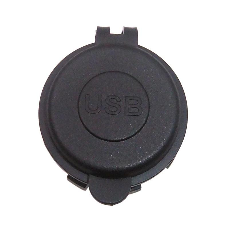 4.2A Dual Car USB Charger For Motorcycle Auto Truck ATV Boat 12V-24V LED Power Adapter