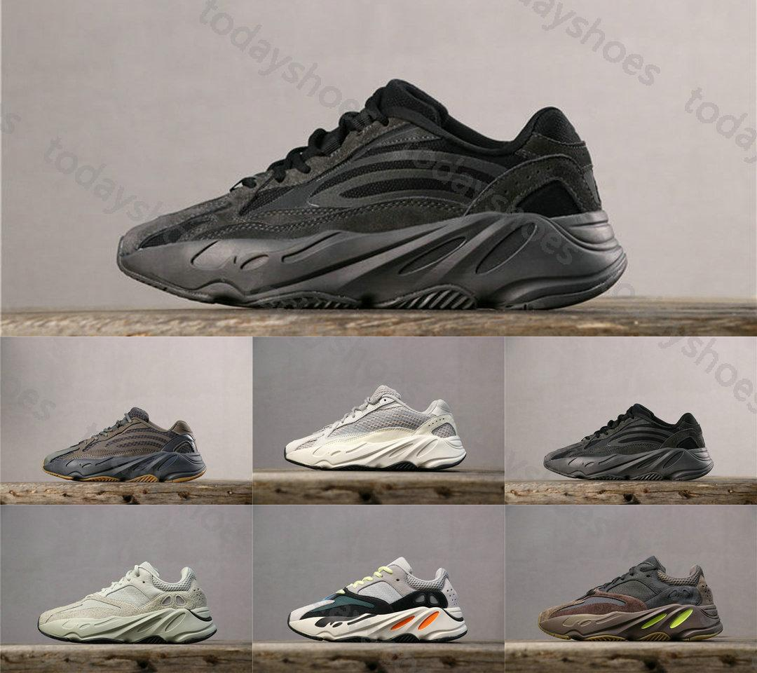 With Box Kanye West Inertia 700 Wave Geode Runner Vanta Static Salt Mauve Solid Grey Designer 