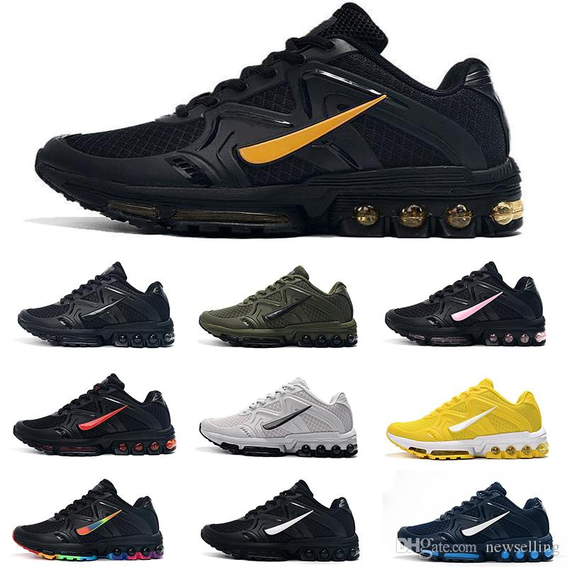 KPU 새로운 좋은 품질 남성 TN 무료 배송 신발 저렴한 검은 색 흰색 노란색 파란색 야외 운동 신발을 실행