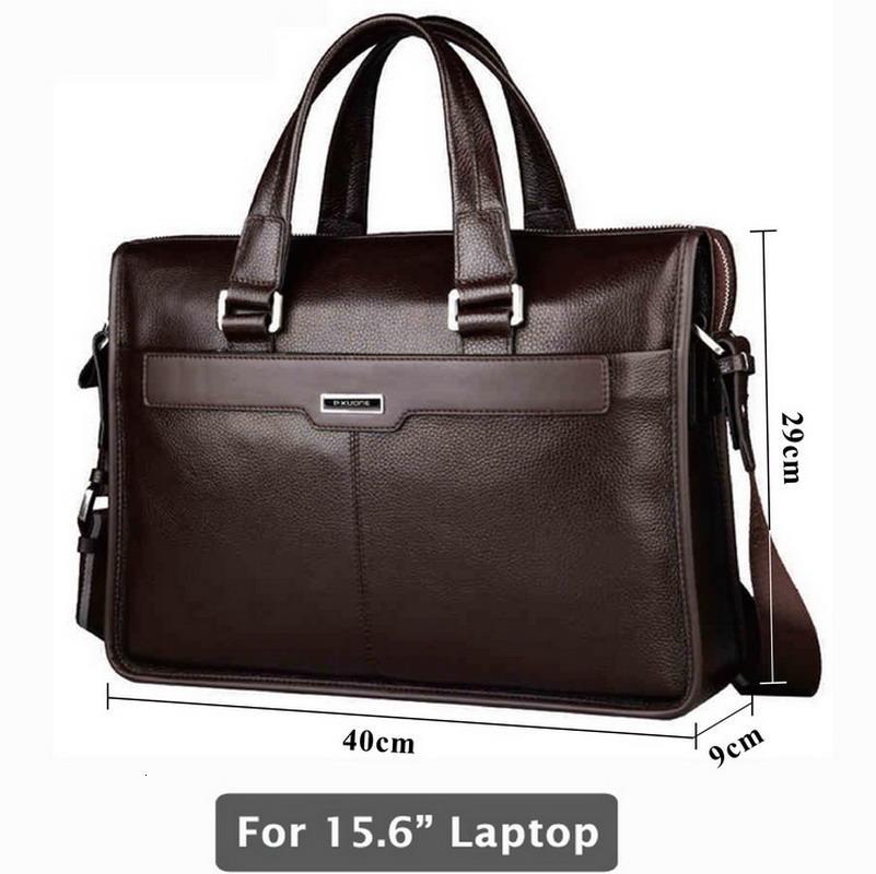 cartella di cuoio genuino, borsa di pelle del computer portatile, per notebook 15 pollici, 15.6 pollici CJ191212 laptop bag