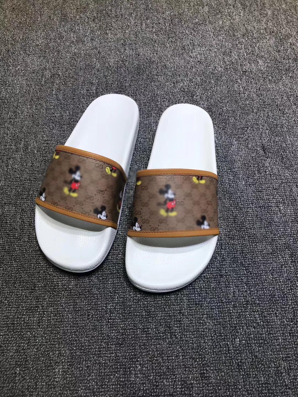 21 цвет NW6 тапочки моды причинная тапочки мужчины женщины тянь / цветы начинают печатать слайд сандалии унисекс открытый пляж флип-флоп