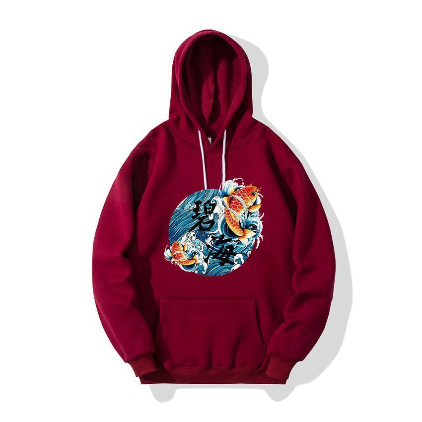 hohe Qualität 2019 Männer und Frauen Hipster lustig Design Brief gedruckt Männer mit Kapuze Pullover Marke Frühjahr Herbst Männer-Sweatshirts