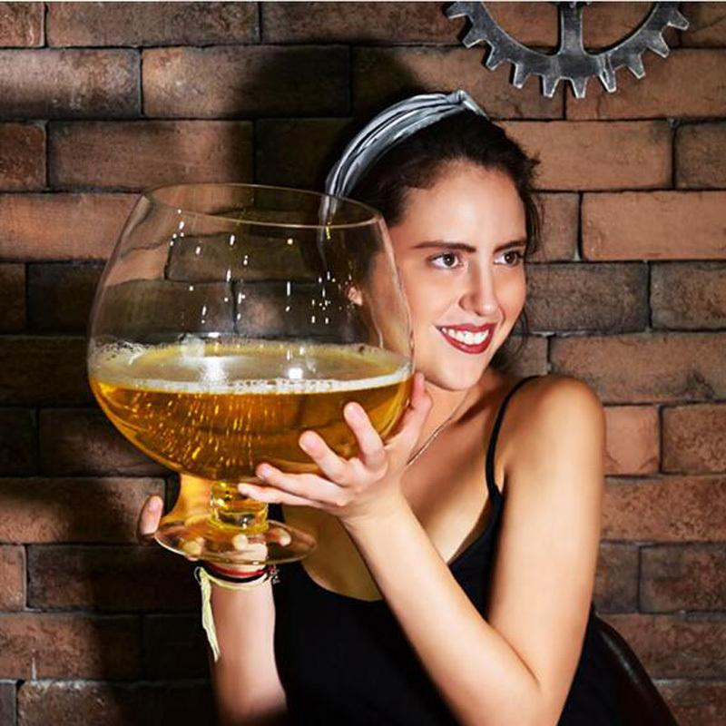 2000ml/4000ml Funny Big Huge Wine Glass For Party Y200107