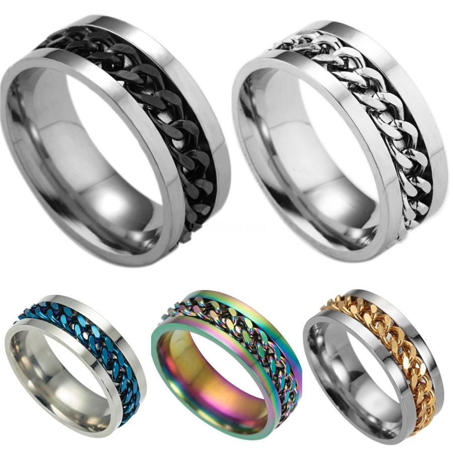 Pulsera de silicona Llavero de la muñeca llavero redondo del círculo Girar titular del brazalete del anillo dominante para la mujer de pulsera pulseras correa Gga3492 # 440