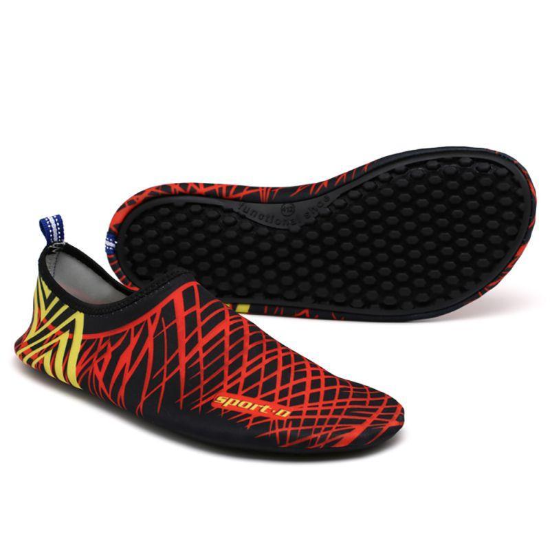 Piscina de agua de la aguamarina zapatos de la playa del camping zapatos antideslizante zapatillas de deporte plana suave adulta que camina amante de la yoga unisex