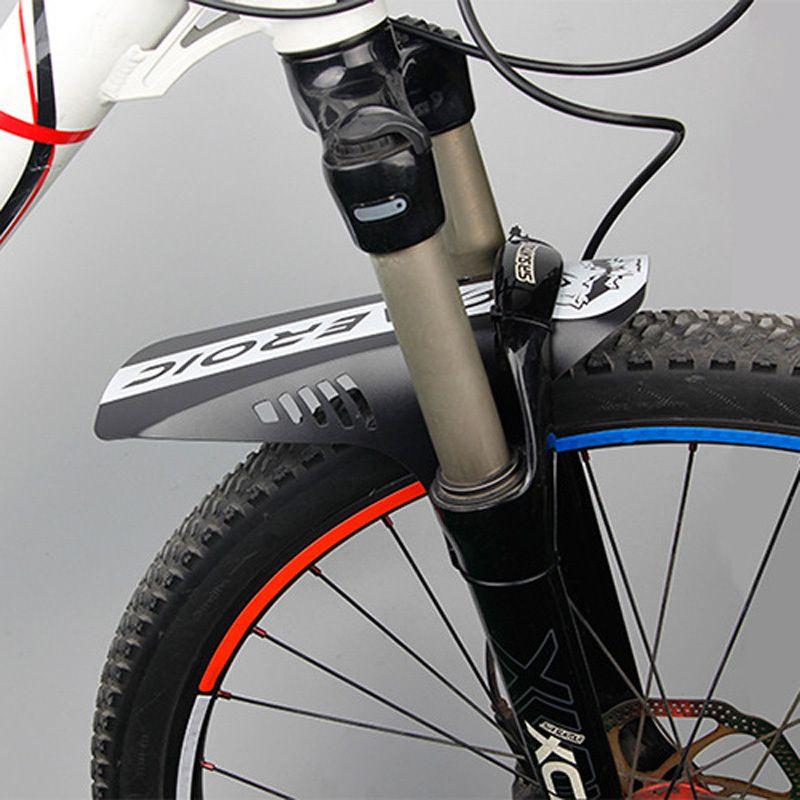 Accesorios de bicicleta 2 piezas Mtb Road Bike Barras de barro Ciclismo Alas de bicicleta Guardabarros de bicicleta delantera para defensas de bicicleta de montaña