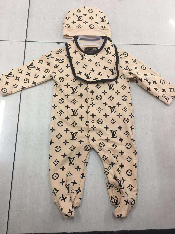UK Newborn Baby Boy Girl Long Sleeve Romper Bodysuit Jumpsuit Cotton Clothes LR