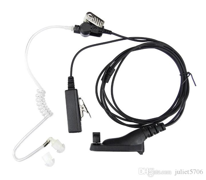 10xCovert Tube Acoustique Écouteur Casque Surveillance Mic Pour Motorola APX4000 APX6000 APX7000 APX 4000 6000 7000 Talkie-Walkie Radio