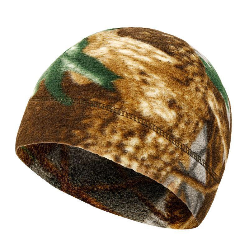 New Men Outdoor Winter Warm Fleece Hat Velvet Thicken Hooded Cap Windproof Sports Cycling Hiking Cap