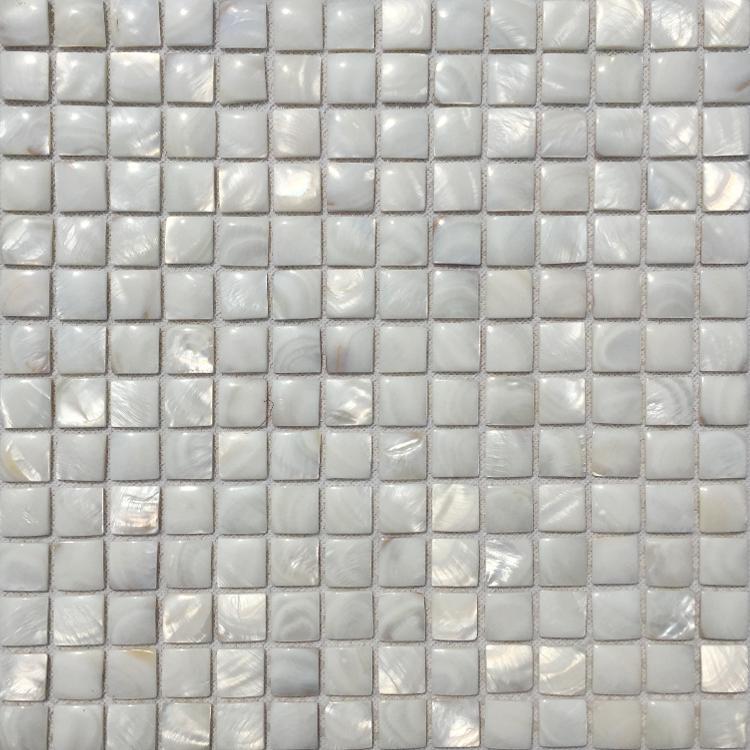 White Mother of pearl shell tile kitchen backsplash MOP19020 natural shell mosaic bathroom wall tile