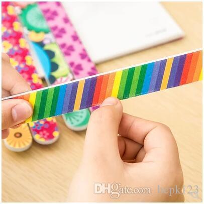Растирание ногтей, маникюр, двухсторонний скраб, маникюр, маникюр, песочная пилка, маникюрный инструмент, разноцветные краски, 5 штук бесплатной доставки
