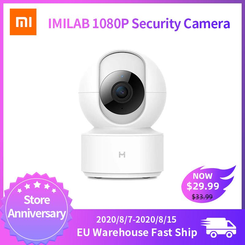 Fotocamera globale versione IMILAB IP Camera di visione notturna intelligente MiHome App 360 gradi WiFi di sicurezza domestica 1080P Baby Monitor per Xiaomi
