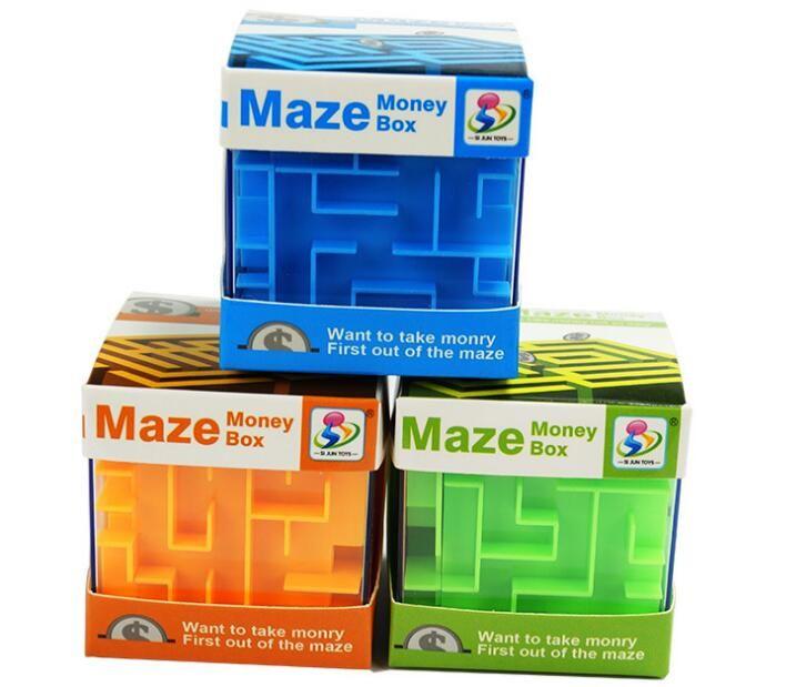 jouets éducatifs nouvelle banque labyrinthe en trois dimensions puzzle cube 3D cochon cube magique enfants jouets développement intellectuel