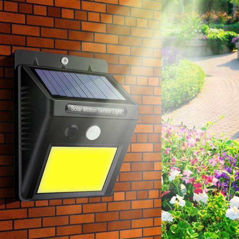 모션 센서 조명 제어 유도와 태양 주도 야외 정원 조명 20LED 정원 조명 IP65 방수 가로등
