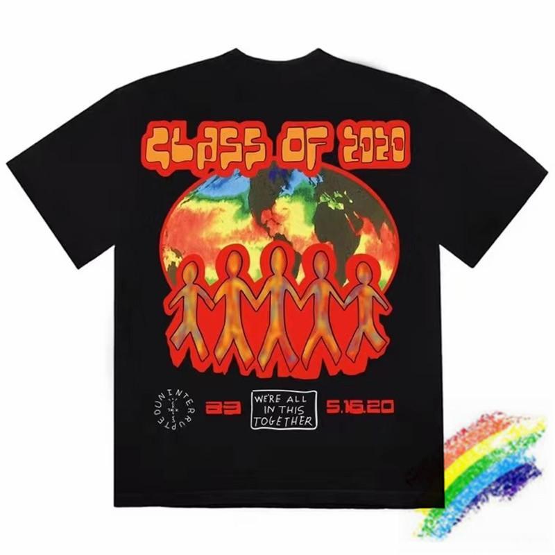Travis ScoCactus Jack Graduation T-shirt Homme Femme Astroworld T-shirt des hommes T-shirts Tops